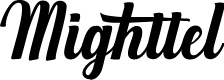 Preview image for Mighttel Font