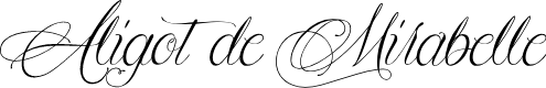 Preview image for Aligot de Mirabelle Font