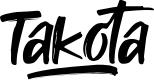 Preview image for Takota Font