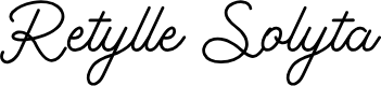 Preview image for Retylle Solyta Font