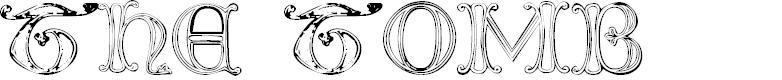 Preview image for The Tomb (winter and spring) 1 Font