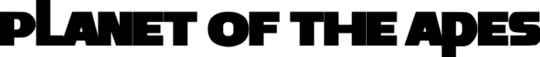 Preview image for Planet of the Apes Font