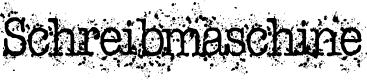 Preview image for Schreibmaschine Font