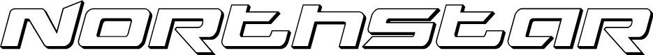 Preview image for Northstar 3D Italic