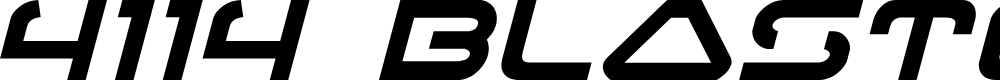Preview image for 4114 Blaster Italic