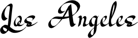 Preview image for Los Angeles Font