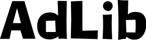 Preview image for AdLib Font