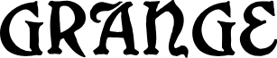 Grange font