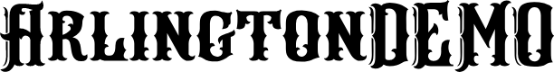 Preview image for ArlingtonDEMO Font