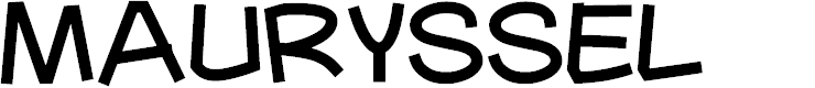 Preview image for Mauryssel Font