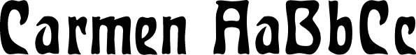 Preview image for Carmen Font