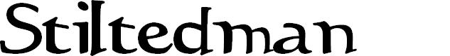 Preview image for Stiltedman  Font