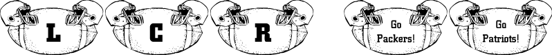 Preview image for LCR Football Fanatic Font