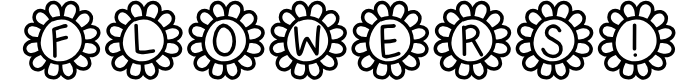Preview image for Flower Power Font
