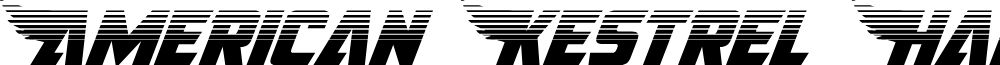 American Kestrel Halftone