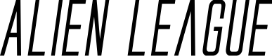 Preview image for Alien League II Bold Italic