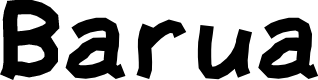 Preview image for Barua Font