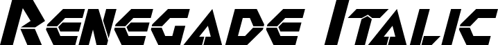Renegade Italic