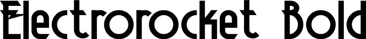 Preview image for Electrorocket Bold
