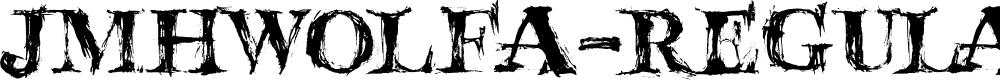 Preview image for JMHWolfa-Regular