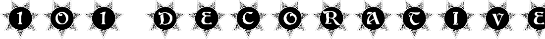 Preview image for 101! Decorative Sun Font