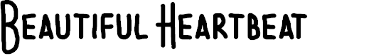 Preview image for Beautiful Heartbeat Font