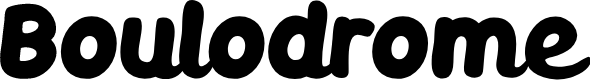 Preview image for Boulodrome Bold Font