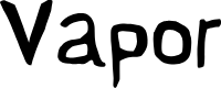 Preview image for Vapor Font