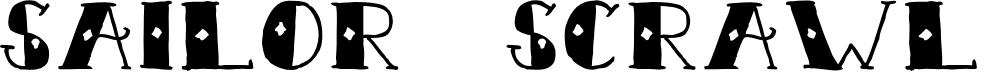 Preview image for Sailor Scrawl Regular Font