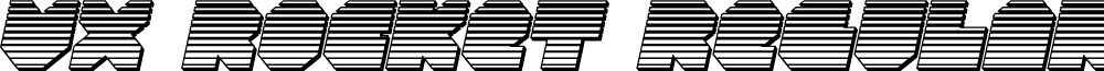 VX Rocket Chrome Italic
