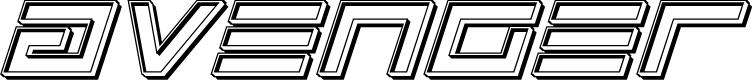 Preview image for Avenger Engraved Italic