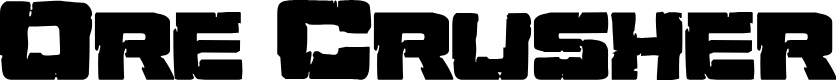 Preview image for Ore Crusher Regular Font