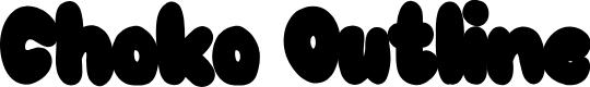 Preview image for Choko Outline