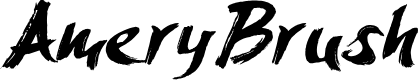 Preview image for AmeryBrush Font