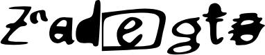 Preview image for Zadegto Font