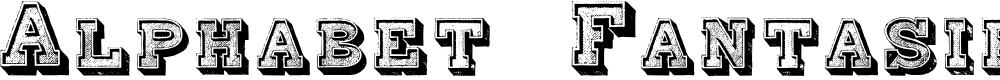 Preview image for Alphabet Fantasie Regular Font