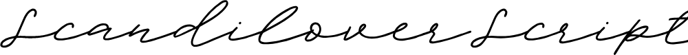 Preview image for ScandiloverScript Font