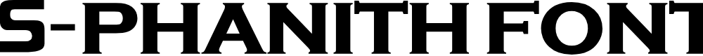 Preview image for S-PHANITH FONTER  Font