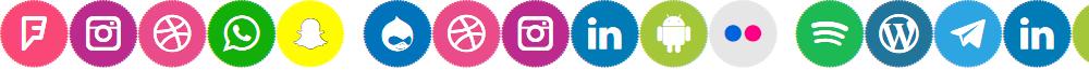 Icons Social Media 4