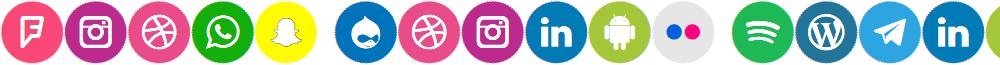 Icons Social Media 8
