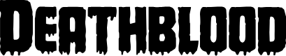Preview image for Deathblood Regular Font