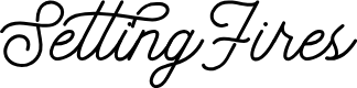Preview image for SettingFires Font