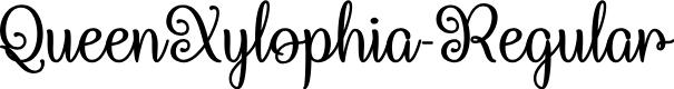 Preview image for QueenXylophia-Regular