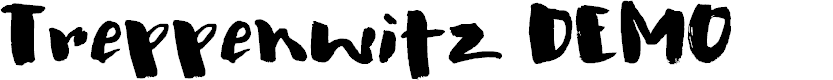 Preview image for Treppenwitz DEMO Regular Font