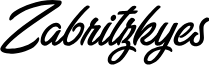 Zabritzkyes Personal Use  font