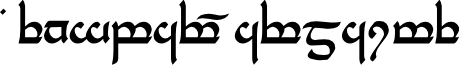Tengwar Parmaite