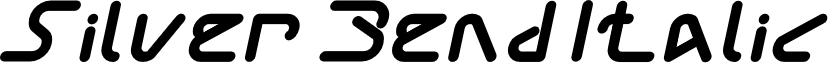 Silver Bend Italic