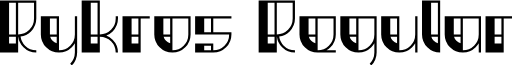 Rykros Regular