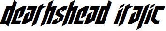 Deathshead Italic