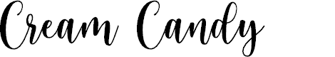 Preview image for Cream Candy Font